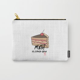 Pie Funny Math Pun Pi Day Gift Math Science Lover Pi day Carry-All Pouch