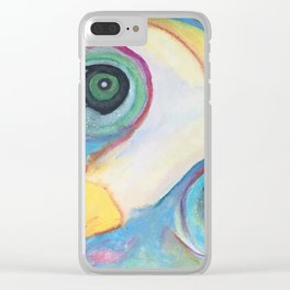 """""""Owl"""" Clear iPhone Case"""