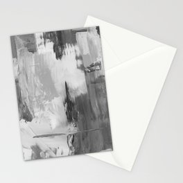 Paint (Black and White) Stationery Cards
