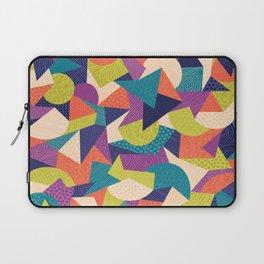 Trendy Abstract Geo Laptop Sleeve