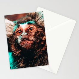 Mischievous Marmoset Stationery Cards