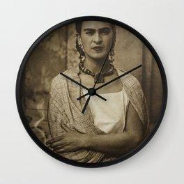 Frida Kahlo Vintage Wall Clock