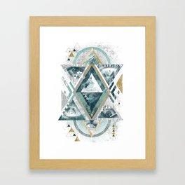 Eyesosceles Framed Art Print