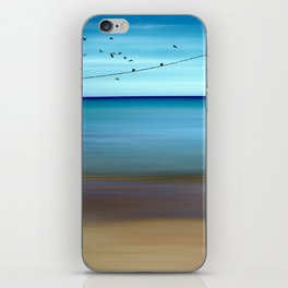 Cretan Sea & Birds II iPhone Skin