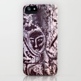 She's indifferent iPhone Case