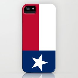 Texan State flag iPhone Case