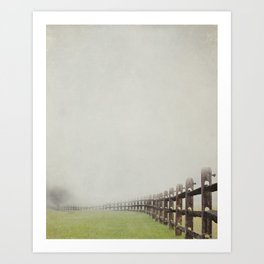 Far to go Art Print