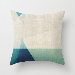 Water Splitter Throw Pillow