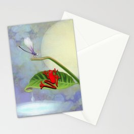 RedFrog and the Dragonfly Stationery Cards