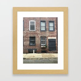 City Home Framed Art Print