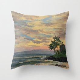 Paradise Found (Kauai) Throw Pillow
