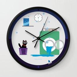 Swim Aduki, swim! Wall Clock