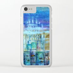 Italy by night Clear iPhone Case