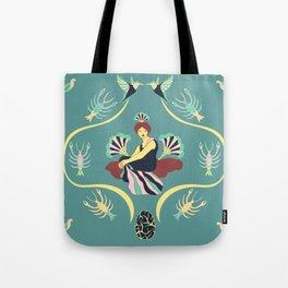 Dama Tote Bag