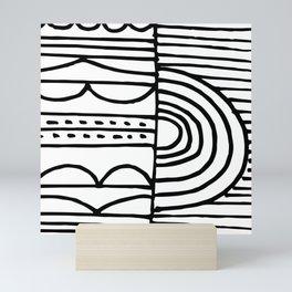 dream of morning Mini Art Print