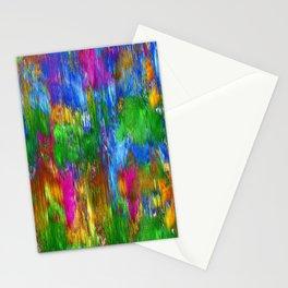 colour rain Stationery Cards