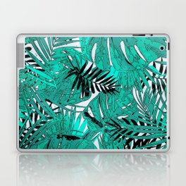 Tropical leaves background texture Laptop & iPad Skin