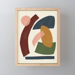 Mid-Century Modern Art # 71 Framed Mini Art Print