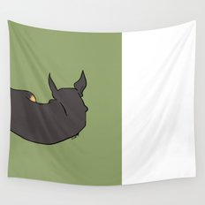 Chihuahua in Repose Wall Tapestry