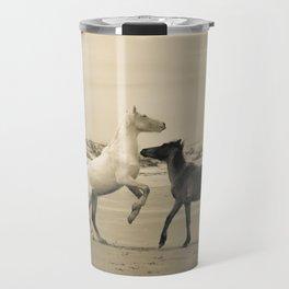 Wild Horses 2 Travel Mug