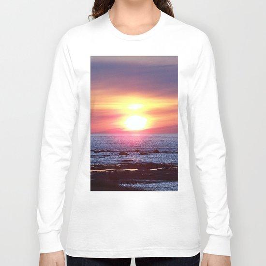 Double Sun Sunset Long Sleeve T-shirt