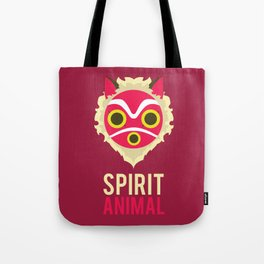 Princess Mononoke Spirit Animal Minimalist Tote Bag