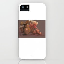 Warm Still Life Composition iPhone Case