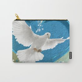 Bird of Peace and Love Carry-All Pouch