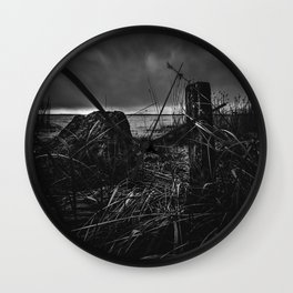 On the wrong side of the lake 14 Wall Clock