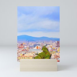 Barcelona Mini Art Print