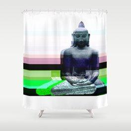 Buddha Variations 1 Shower Curtain
