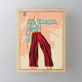 NEW YEAR DANCE Framed Mini Art Print