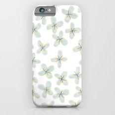 Blue Cherry Blossom Slim Case iPhone 6s