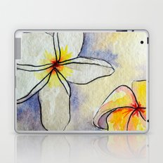 Plumerias Laptop & iPad Skin
