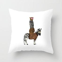 Animal Print// style lovers Throw Pillow
