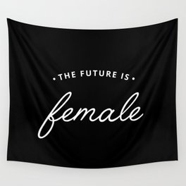 A Female Future Wall Tapestry