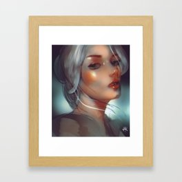 the witcher ¦ ciri Framed Art Print