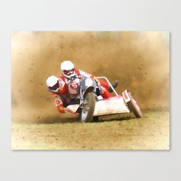 The race is on Canvas Print