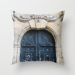 Grand Opening - Paris Architecture, Travel Photography Throw Pillow