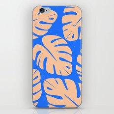 Monstera Leaf Print 5 iPhone & iPod Skin