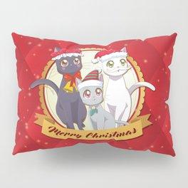 Xmas Cats! Pillow Sham
