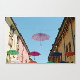 Umbrellas of Ferrara Canvas Print