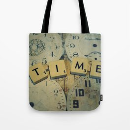Time goes and goes Tote Bag