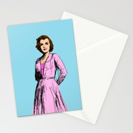 Marilyn In Purple Stationery Cards