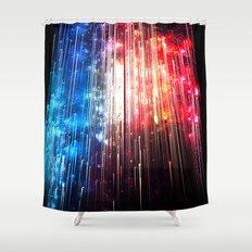 SUPERLUMINAL Shower Curtain