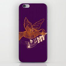 Musical Sunset iPhone & iPod Skin