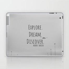 Explore Mark Twain Laptop & iPad Skin