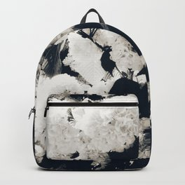 High Contrast Black and White Snowballs Backpack