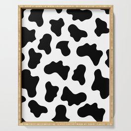 Moo Cow Print Serving Tray