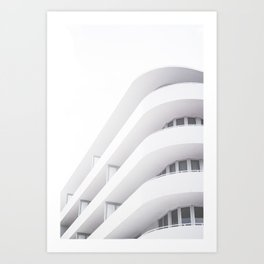 Art Deco Miami Beach #20 Art Print